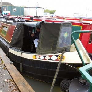 Looking at Charlie Fox Narrowboats