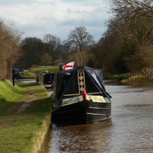 Sunny Mooring at Audlem