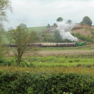 Trains in The Churnet Valley
