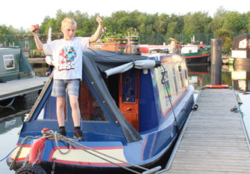 Last Day of Our Journey and Harebell's New Mooring.