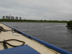 Onto Tidal Trent at Torksey