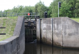 Entrance to Lemonroyd Lock.