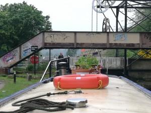 Locomotive Bridge in Huddersfield