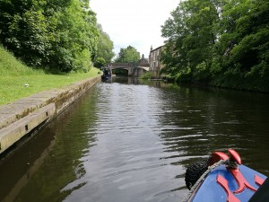 Off From our Coppers Bridge Mooring.